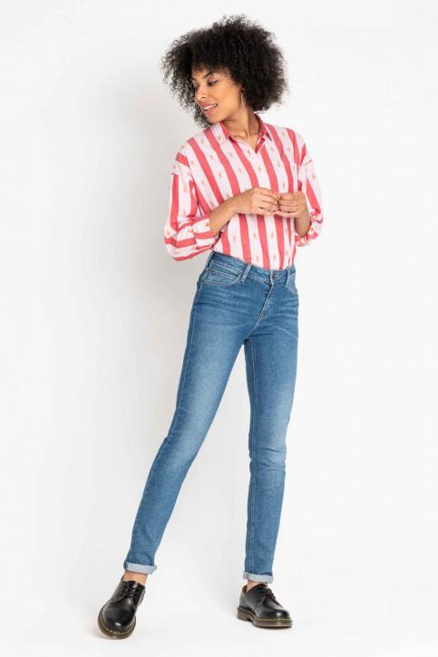 Lee Jeans slim blauw L305DJJF_HACKETT LT BLUE img1