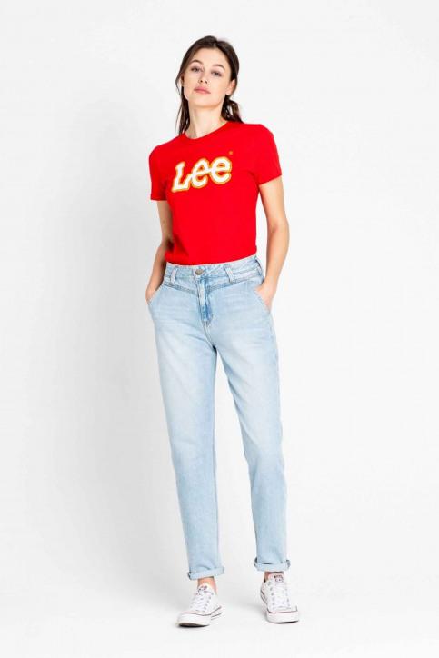 Lee Mom Jeans denim L32HGGSM_GET LIGHT img3