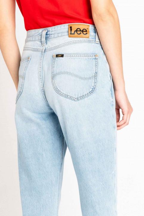 Lee Mom Jeans denim L32HGGSM_GET LIGHT img4