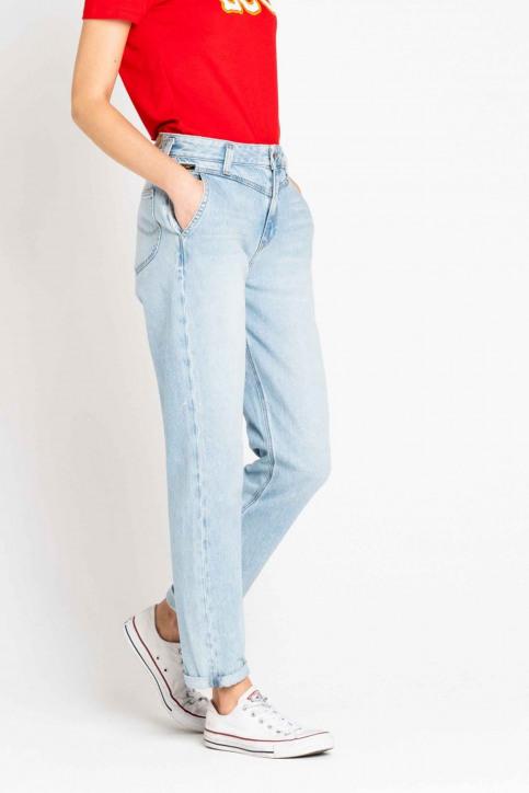 Lee Mom Jeans denim L32HGGSM_GET LIGHT img5