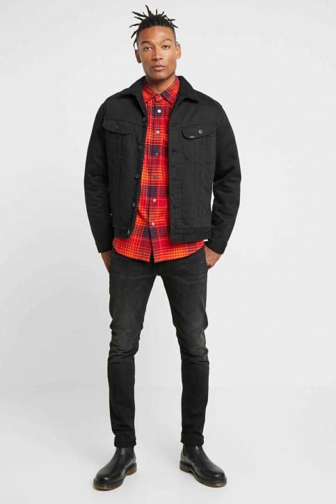 Lee Jeans tapered grijs L719IZHL_MOTO BLACK img2