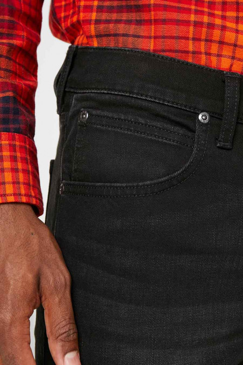 Lee Jeans tapered grijs L719IZHL_MOTO BLACK img4