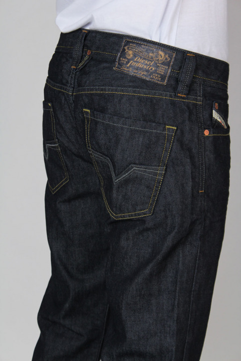 Diesel Jeans straight denim LARKEE_008Z8DARK img4