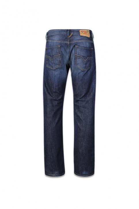DIESEL Jeans straight denim LARKEE_0823GDARK BLUE img2
