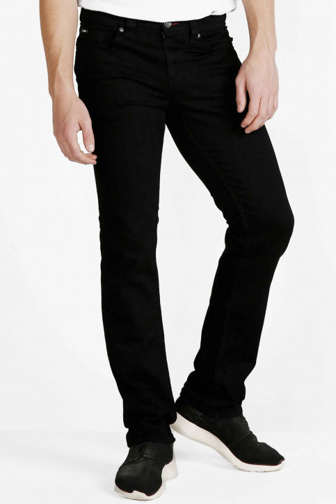 Lee Cooper Jeans straight zwart LC112ZPS_NERO CLEAN img1
