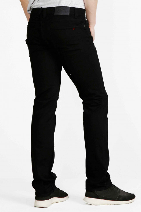 Lee Cooper Jeans straight zwart LC112ZPS_NERO CLEAN img2