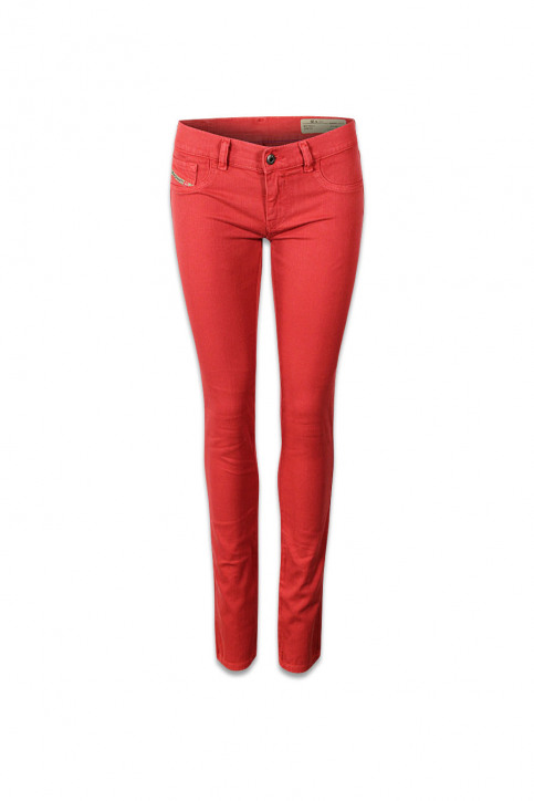 Diesel Pantalons colorés orange LIVIER COLOR_41WORANGE img1