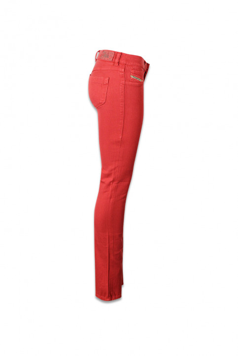 Diesel Pantalons colorés orange LIVIER COLOR_41WORANGE img3