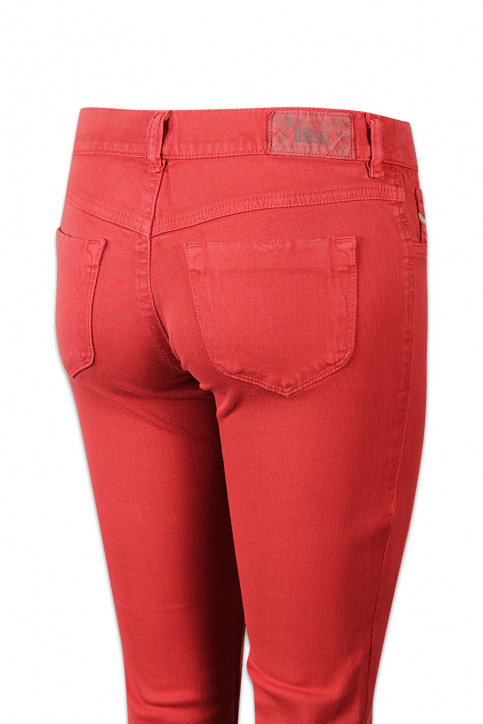 Diesel Pantalons colorés orange LIVIER COLOR_41WORANGE img4