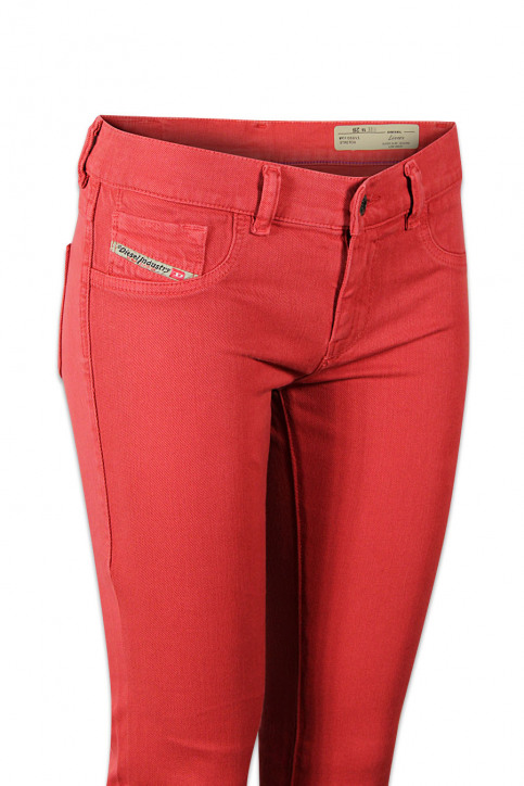 Diesel Pantalons colorés orange LIVIER COLOR_41WORANGE img5