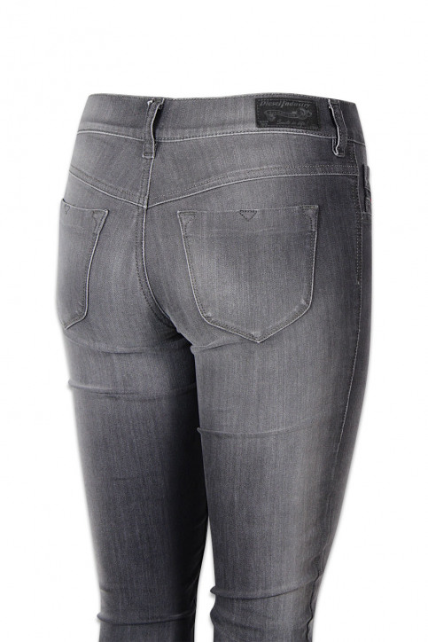 Diesel Jeans skinny gris LIVIER_0662GGREY img4