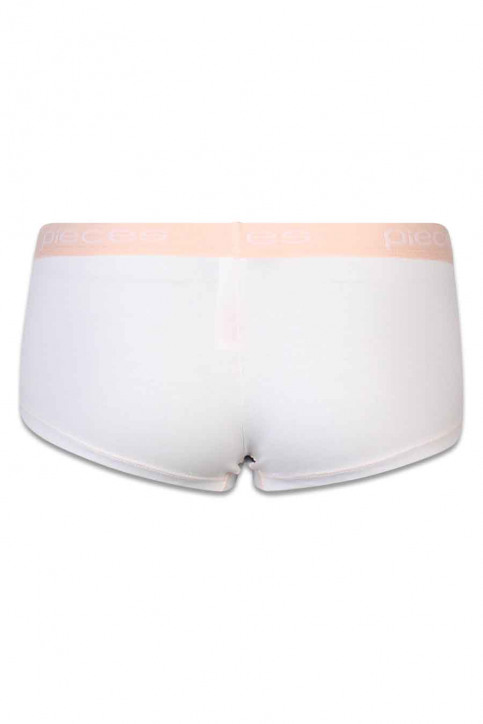 PIECES Shorty blanc LOGO LADY BOXER14176_BRIGHT WHCB 4 img2