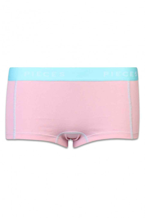 PIECES Shorty rose LOGO LADY BOXER14185_CAMEO PINK img1