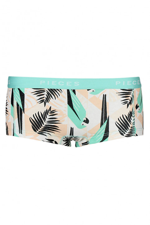 PIECES Shorty LOGO LADY BOXER14212_POOL BLUE img1