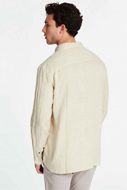 GUESS Hemden (lange mouwen) beige M02H46WBGX0_G9H1 TAPIOCAGRE img3
