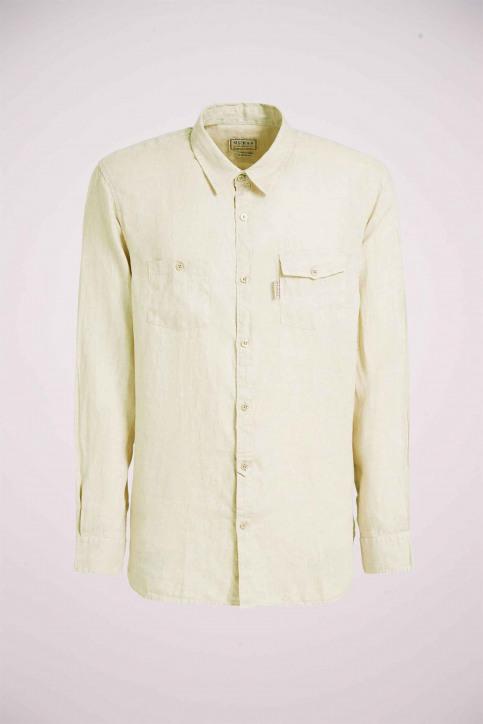 GUESS Hemden (lange mouwen) beige M02H46WBGX0_G9H1 TAPIOCAGRE img4