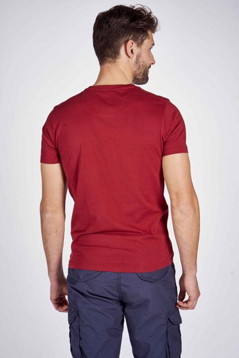 Petrol T-shirts (korte mouwen) rood M1000SPTSR632_3051 BIKING RED img3