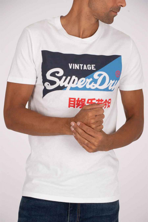 SUPERDRY T-shirts (manches courtes) blanc M1010346A_01C OPTIC img1