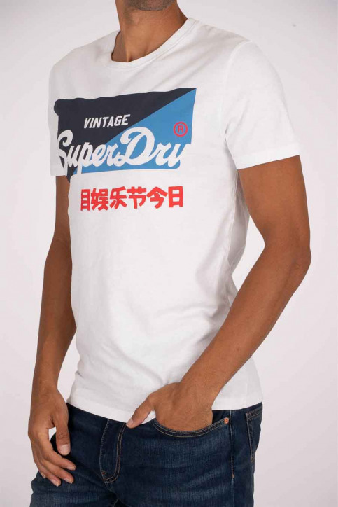 SUPERDRY T-shirts (manches courtes) blanc M1010346A_01C OPTIC img2