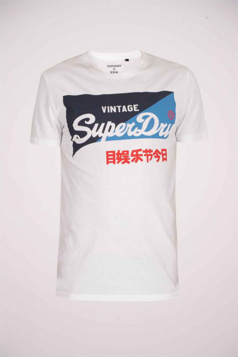 SUPERDRY T-shirts (manches courtes) blanc M1010346A_01C OPTIC img4