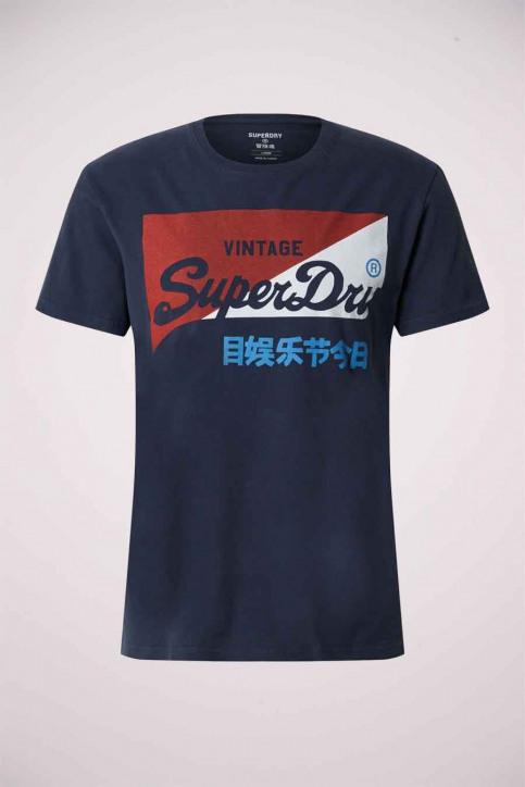 SUPERDRY T-shirts (manches courtes) bleu M1010346A_3RQ MONT NAVY img1