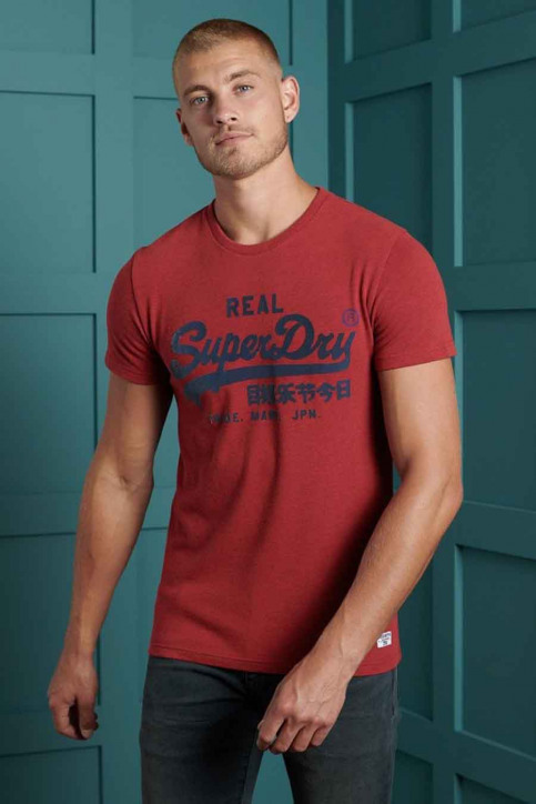 SUPERDRY T-shirts (manches courtes) rouge M1010349B_3YJ CHILLI PEPP img1
