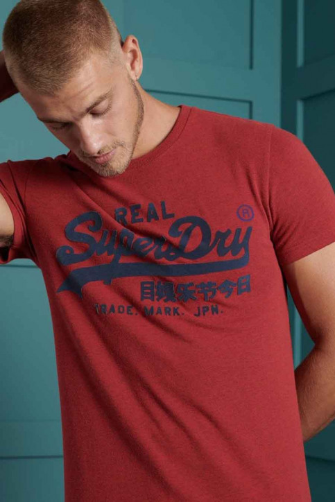 SUPERDRY T-shirts (manches courtes) rouge M1010349B_3YJ CHILLI PEPP img3