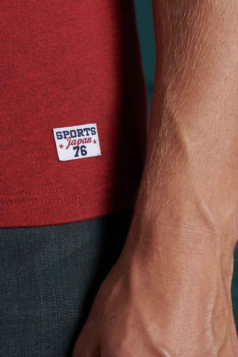SUPERDRY T-shirts (manches courtes) rouge M1010349B_3YJ CHILLI PEPP img4