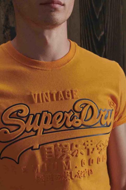 SUPERDRY T-shirts (manches courtes) jaune M1010350A_UKD ALASKA GOLD img4