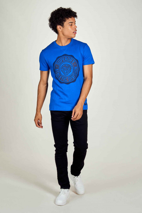 SUPERDRY T-shirts (manches courtes) bleu M1010372A_BFZ EAGLE BLUE img1