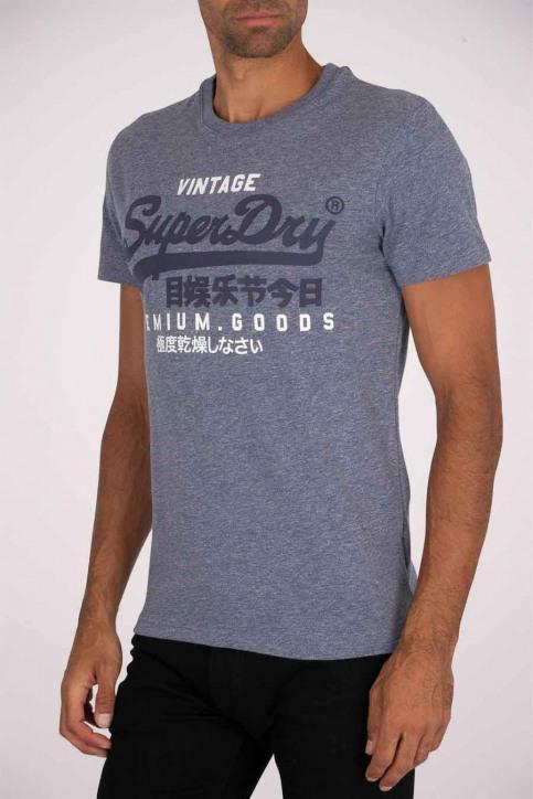 SUPERDRY T-shirts (manches courtes) bleu M1010411A_ZK5 TOIS BLUE H img1