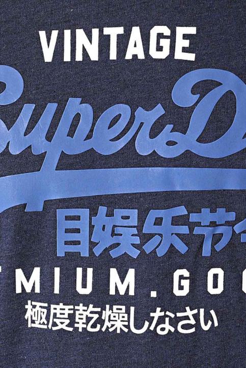 SUPERDRY T-shirts (manches courtes) bleu M1010411A_ZK5 TOIS BLUE H img4