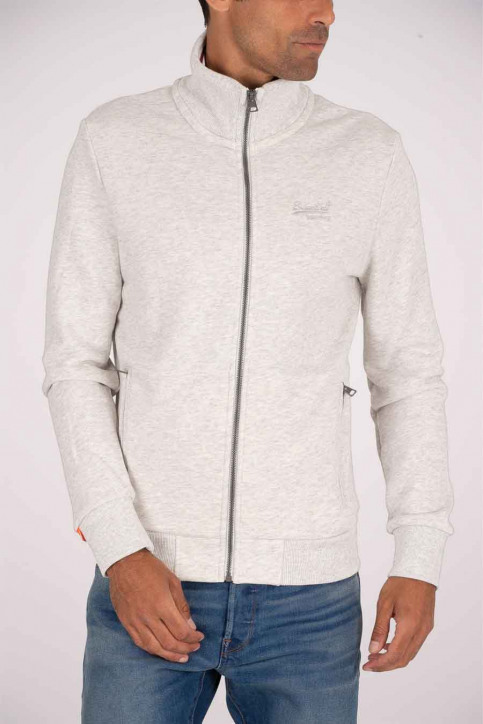 SUPERDRY Gilets rood M2010146A_3DZ PALE GREY B img1
