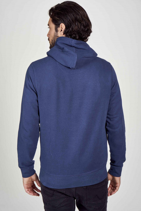 Petrol Sweaters met kap blauw M3000SPSWH422_5082 PETROL BLU img2