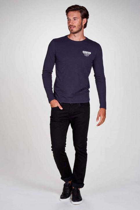 Petrol Industries® T-shirts (manches longues)) bleu M3000SPTLR310_5091 DEEP NAVY img1