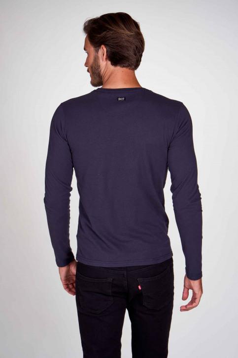Petrol T-shirts (lange mouwen) blauw M3000SPTLR310_5091 DEEP NAVY img3