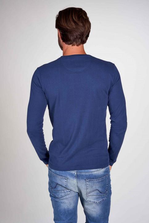 Petrol Industries® T-shirts (manches longues)) bleu M3000SPTLR412_5082 PETROL BLU img3