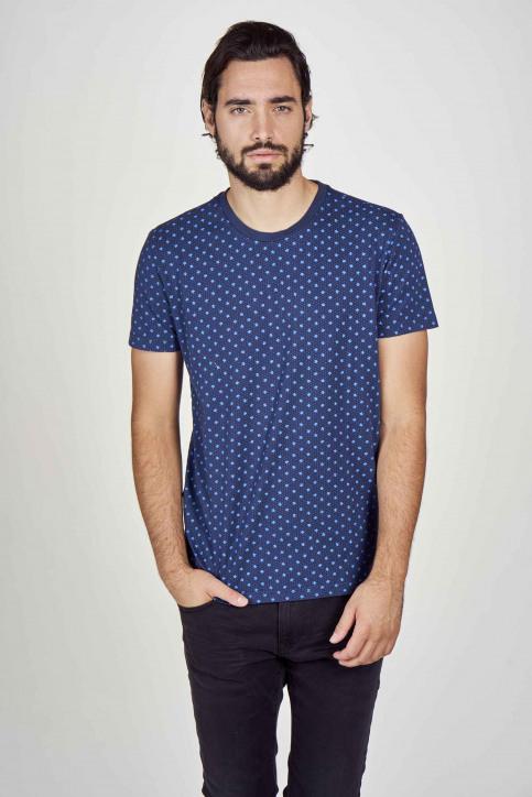 Petrol T-shirts (korte mouwen) blauw M3000SPTSR105_5082 PETROL BLU img2
