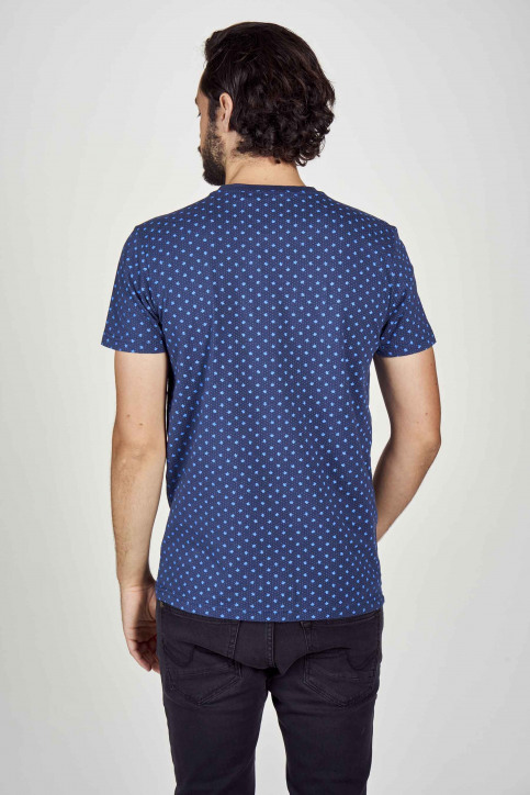 Petrol T-shirts (korte mouwen) blauw M3000SPTSR105_5082 PETROL BLU img3