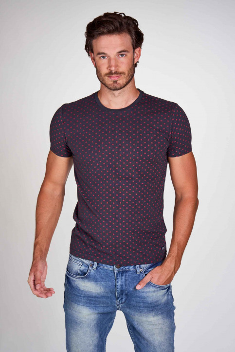 Petrol Industries® T-shirts (manches courtes) gris M3000SPTSR105_9073 RAVEN GREY img2