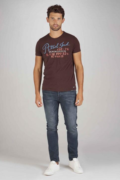 Petrol T-shirts (korte mouwen) bordeaux M3090SPTSR602_3088 DARK BURGU img2
