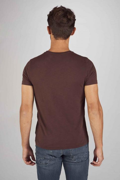 Petrol T-shirts (korte mouwen) bordeaux M3090SPTSR602_3088 DARK BURGU img3