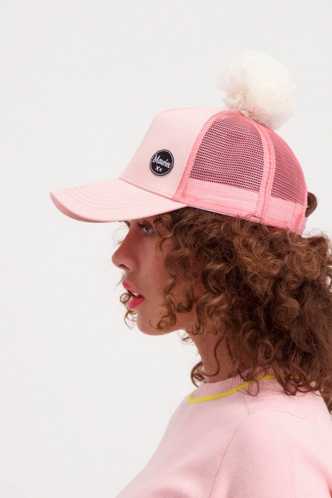 Maurice Casquettes rose MAU CAP S18_PINK img3