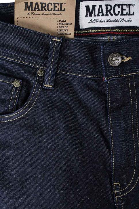 Le Fabuleux Marcel De Bruxelles Jeans slim denim MDB LE JEAN MEN_DENIM BLUE img8