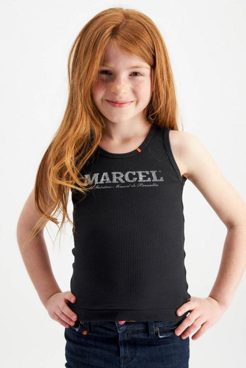 Le Fabuleux Marcel De Bruxelles Singlets zwart MDB MARCELLEKE_BLACK img3