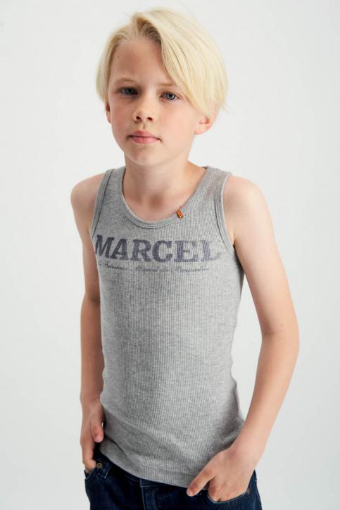 Le Fabuleux Marcel de Bruxelles Singlets gris MDB MARCELLEKE_GREY MELEE img3