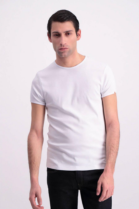 T-shirts (korte mouwen) wit MDB NOOS BRANDO_WHITE img1