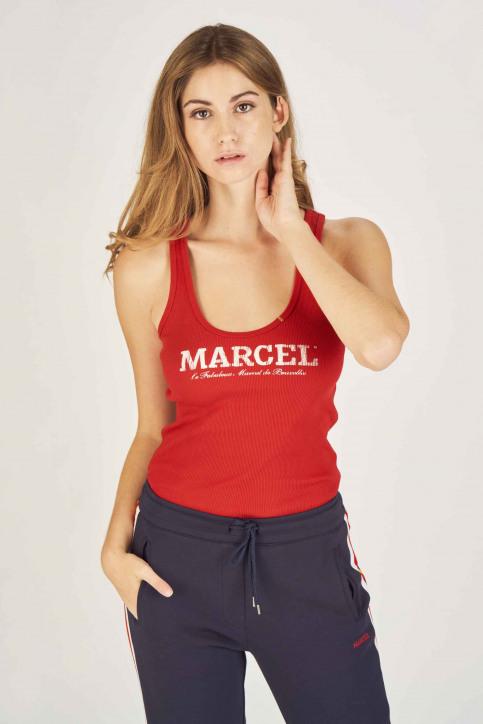 Le Fabuleux Marcel de Bruxelles Singlets rood MDB NOOS FAB NEW_CRIMSON RED img1