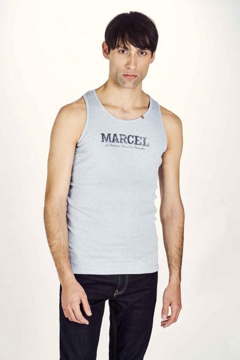 Le Fabuleux Marcel De Bruxelles Singlets blauw MDB NOOS PABLO_LIGHT BLUE MELE img1