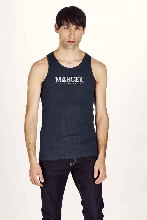 Le Fabuleux Marcel De Bruxelles Singlets bleu MDB NOOS PABLO_NAVY img1